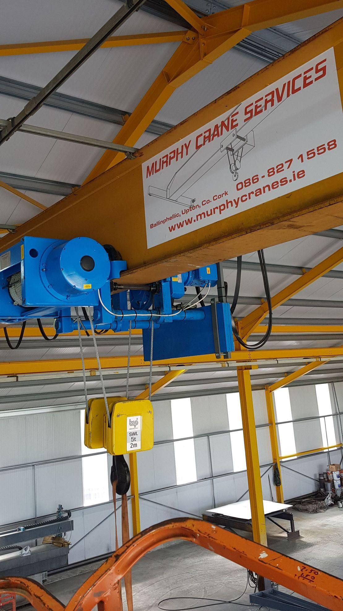 Murphy Crane Services | Cranes Sales, Serving | Cork